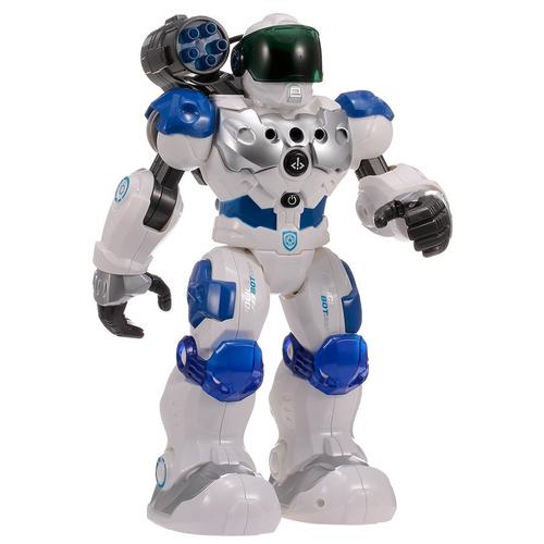 Робот Zhorya Пультовод, ZYA-A2750, белый/синий
