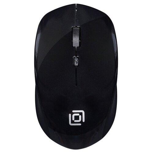 Беспроводная мышь OKLICK 565MW Glossy Black