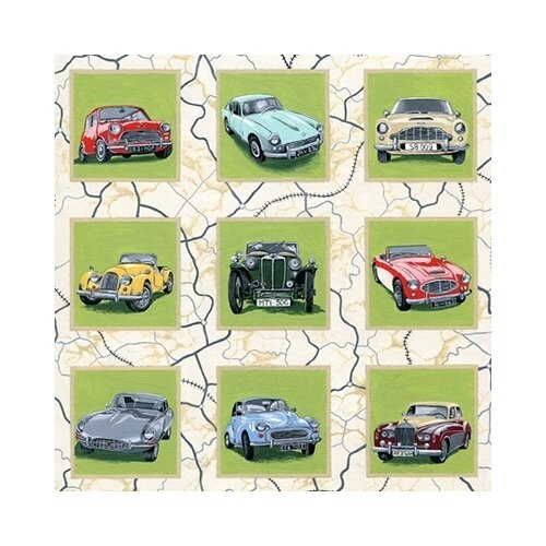 Купить Ткань для пэчворка Peppy panel, 60*110 см, 135+/-5 г/м2 (063), Ткани