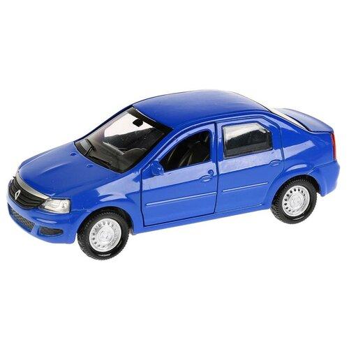 Легковой автомобиль ТЕХНОПАРК Renault Logan, 12 см, синий легковой автомобиль технопарк renault kaptur 1 36 12 см оранжевый