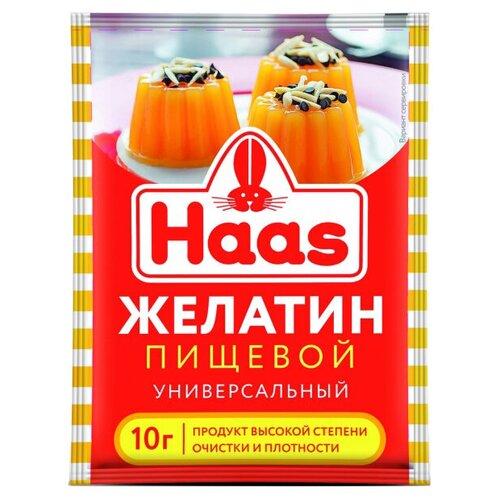 Haas Желатин пищевой универсальный 10 г
