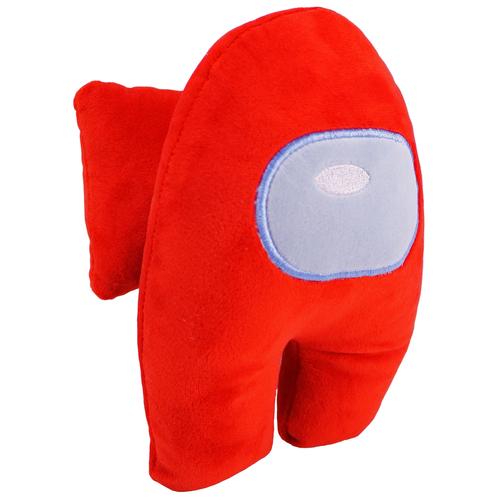 Мягкая игрушка Among Us 22 см, красный