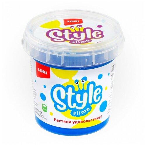 Лизун LORI Style slime классический с ароматом тутти-фрутти лазурный
