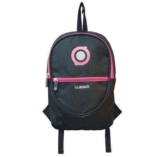 GLOBBER Junior, Black/Neon Pink
