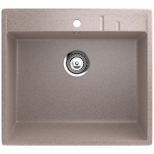Фото - Врезная кухонная мойка 55 см EcoStone ES-15 302 песочный врезная кухонная мойка 103 см ecostone es 29 308 черный