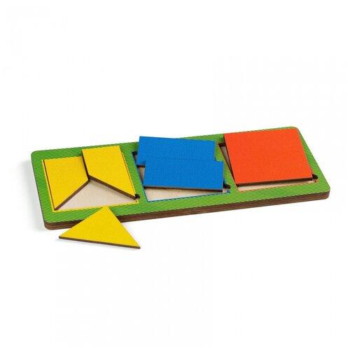 Вкладыши Paremo 3 квадрата, простые (PE720-27)
