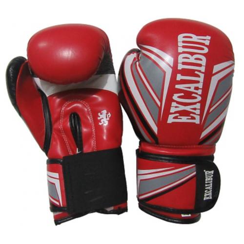 Перчатки боксерские Excalibur 8023-04 Red PU 10 унций