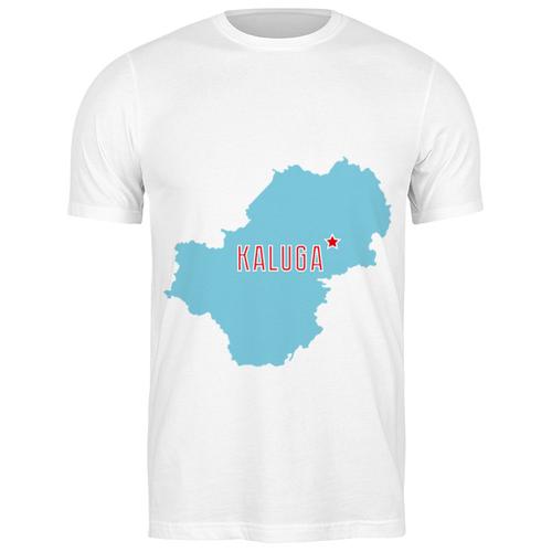 Футболка классическая Калужская область. Калуга #2192107 (цвет: БЕЛЫЙ, пол: МУЖ, качество: ЭКОНОМ, размер: S)