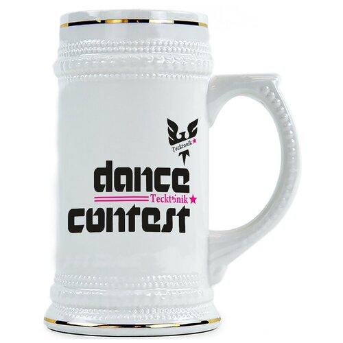 Пивная кружка Dance contest , Конкурс танца