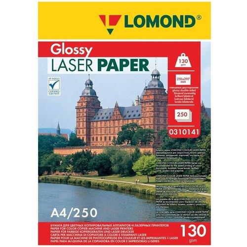 Фото - Бумага Lomond A4 Laser Paper 0310141 130 г/м² 250 лист., белый бумага lomond a4 160г кв м matte paper [0102031] 25л