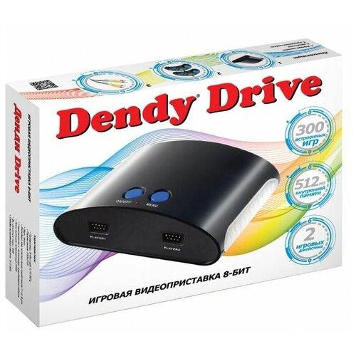 Фото - Игровая приставка Dendy Drive 300 встроенных игр игровая приставка dendy junior 300 игр световой пистолет