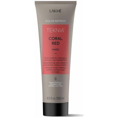 Lakme Teknia Refresh Coral Red Маска для обновления цвета красных оттенков волос, 250 мл недорого