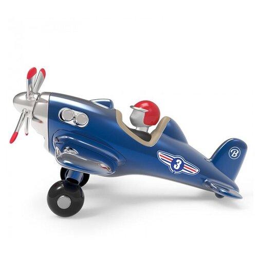 Купить Самолет Baghera Jet Plane 14 см синий, Машинки и техника