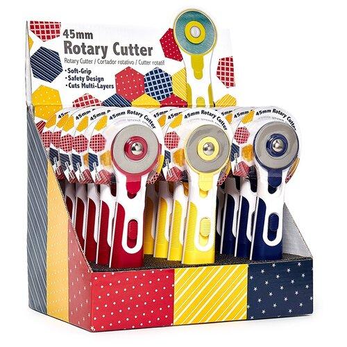 Купить Нож раскройный круглый, 45 мм HEMLINE 15 шт ( N4379 ), Инструменты и аксессуары