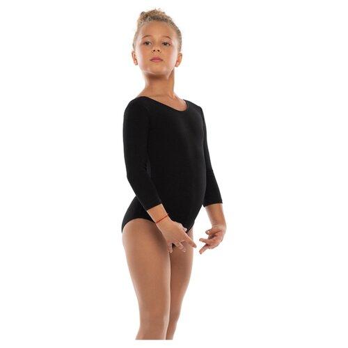 Костюм гимнастический, черный,х/б размер 40 4886220