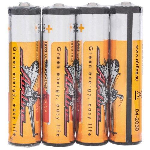 Батарейки LR03/AAA щелочные 4 шт.