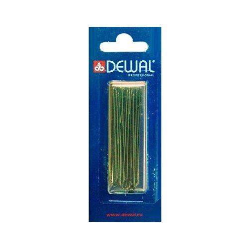 Купить Шпильки DEWAL коричневые, прямые 60 мм, 24шт/уп, на блистере, мягкие DEWAL MR-SLT60P-3/24