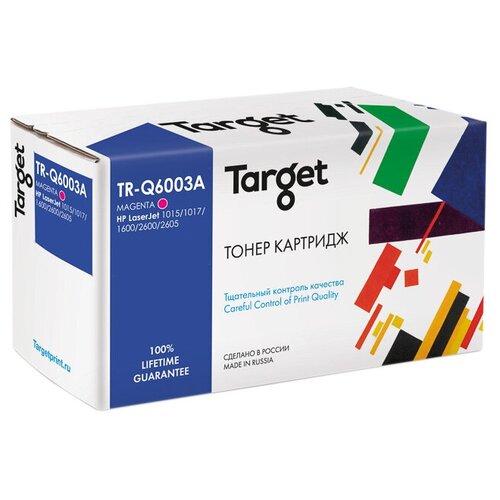 Фото - Картридж Target TR-Q6003A, совместимый картридж nv print q6003a q6003a q6003a q6003a q6003a для для color laserjet 1600 2600n m1015 m1017 2000стр пурпурный