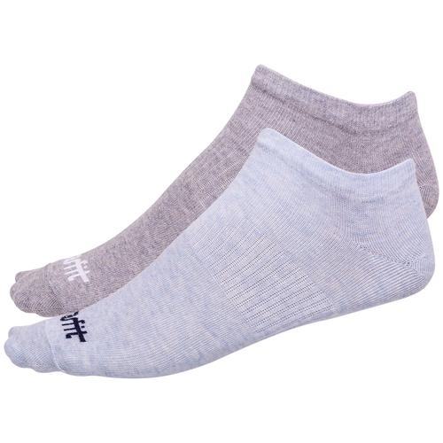Носки низкие SW-205, голубой меланж/светло-серый меланж, 2 пары - 43-46