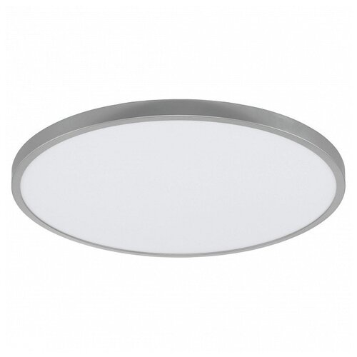Фото - Накладной светильник Eglo ПРОМО, 1х27W, серебро, размеры (мм)-600x30, 3000К, плафон - белый накладной светильник novotech 3х12w белый размеры мм 105x38x236 3000к плафон белый черный