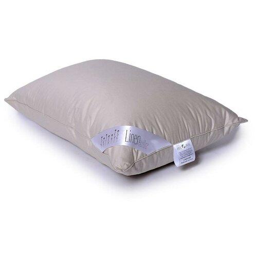 Подушка изо льна и искусственного лебяжьего пуха Бел-Поль LINEN AIR 50х70 средняя