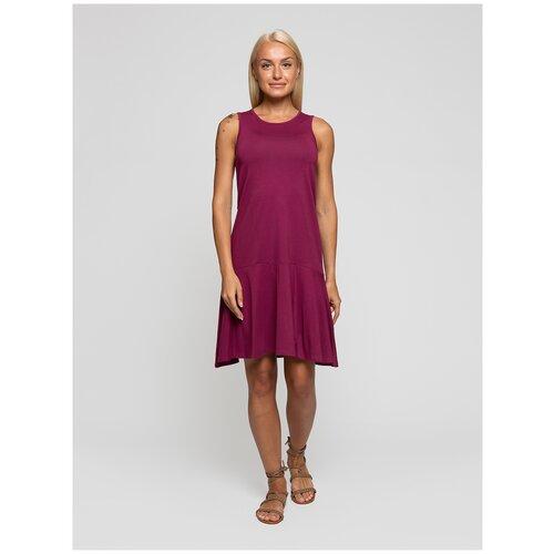 Женское легкое платье сарафан, Lunarable вишневое, размер 48
