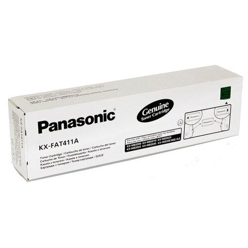 Фото - Картридж Panasonic KX-FAT411A картридж nv print kx fat411a kx fat411a kx fat411a kx fat411a для для panasonic kx fa t 411a 2000стр черный