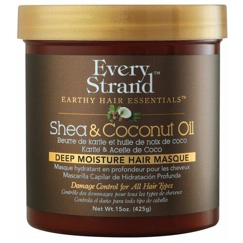 Купить Every Strand Маска для волос с кокосовым маслом и маслом ши, 425 г