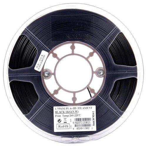 Фото - PLA+ пруток ESUN 1.75 мм, 1 кг, черный pla пруток esun 1 75 мм желтый 1 кг