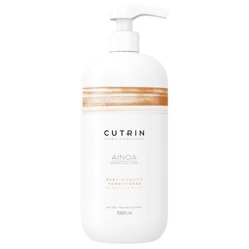 Купить Cutrin кондиционер для волос AINOA Body Vitality для укрепления, 1000 мл