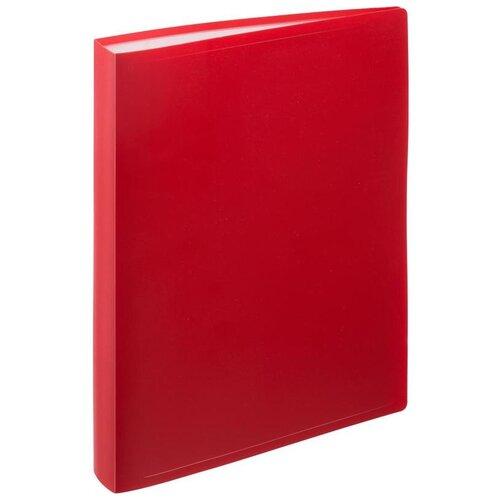 Купить Attache Папка файловая А4 на 100 файлов, 35 мм красный, Файлы и папки