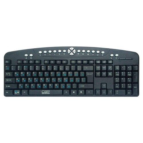 Клавиатура CBR KB 340GM Black-Silver USB (2018)