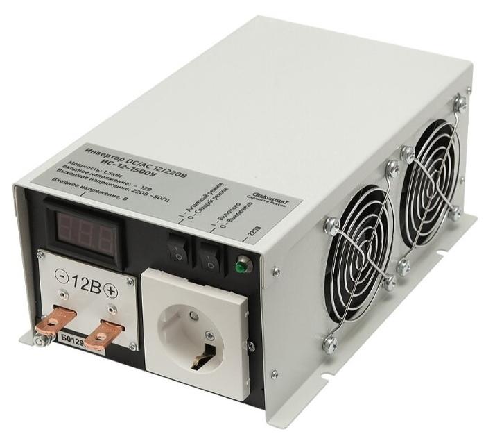 Стоит ли покупать Инвертор СибКонтакт ИС-12-1500У DC-AC? Отзывы на Яндекс.Маркете