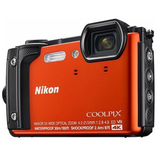 Фотоаппарат Nikon Coolpix W300 оранжевый
