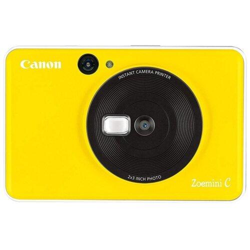 Фото - Фотоаппарат моментальной печати Canon Zoemini C, желтый фотоаппарат моментальной печати canon zoemini s розовое золото