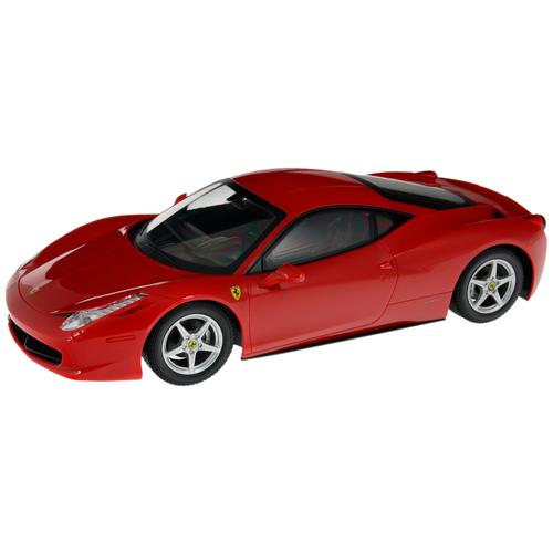 Фото - Легковой автомобиль MJX Ferrari F458 Italia (MJX-8234) 1:10 12 см красный радиоуправляемые игрушки mjx радиоуправляемый автомобиль 1 20 ferrari california
