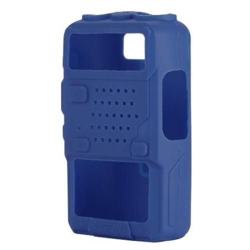 Чехол силиконовый для радиостанций Baofeng UV-5R синий