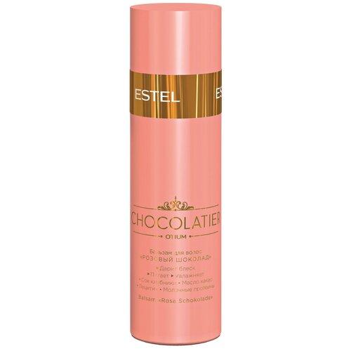 Фото - ESTEL бальзам для волос Otium Chocolatier Розовый шоколад, 200 мл estel professional бальзам otium chocolatier белый шоколад 200 мл