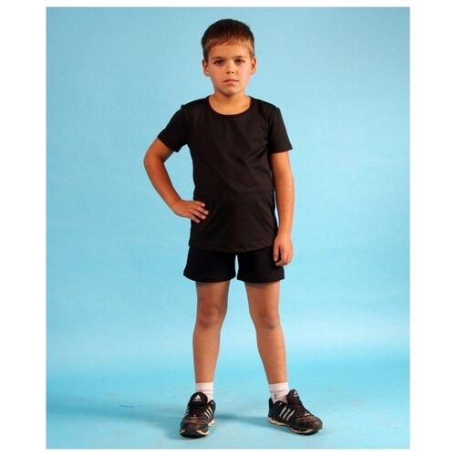 Шорты детские, ALIERA, Ш 4.03, размер 146-152, черный брюки sela размер 146 коричневый