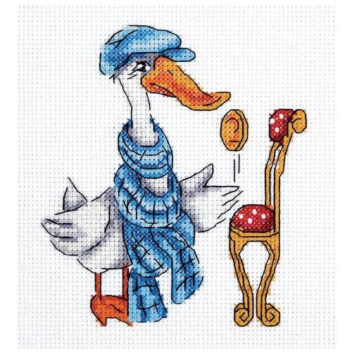 Набор для вышивания KLART Гусь 14x15 см