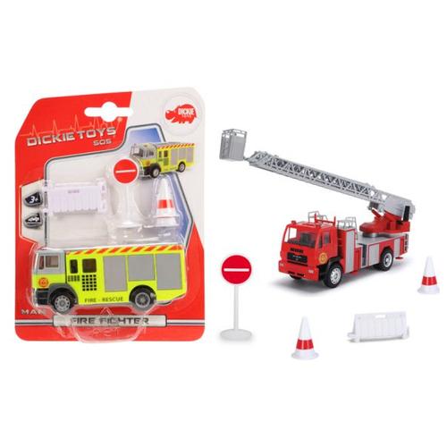 Купить Машина Dickie Пожарная в ассортименте 12 см 3341006, Dickie Toys, Машинки и техника