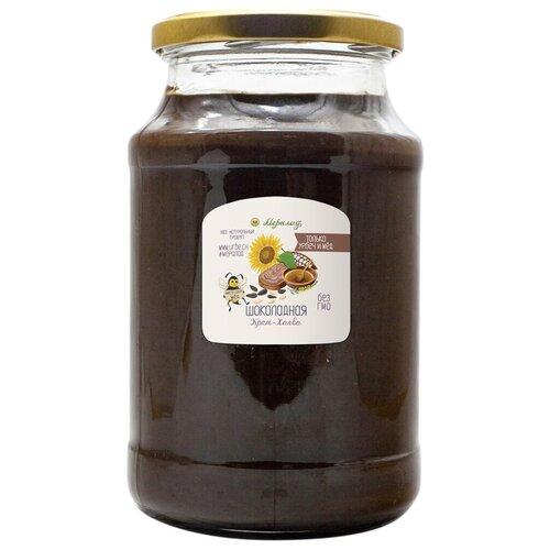 Крем-халва шоколадная 1 кг. Натуральная шоколадная халва без сахара.
