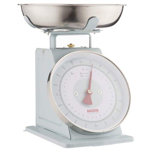 Кухонные весы TYPHOON Living голубой