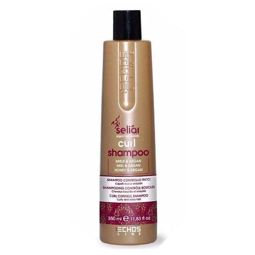 Купить Echosline шампунь Seliar Curl для вьющихся волос мед и масло Аргании, 350 мл