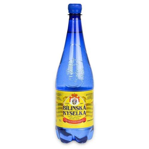 Вода минеральная Bilinska Kyselka негазированная, ПЭТ, 6 шт. по 1 л