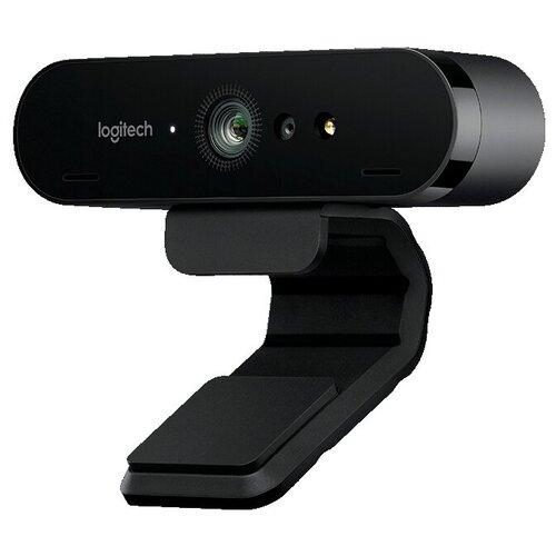 Веб-камера Logitech VC Brio Ultra HD Pro, черный