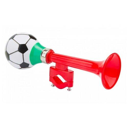 Клаксон 73L-02/210207 футбольный мяч красный