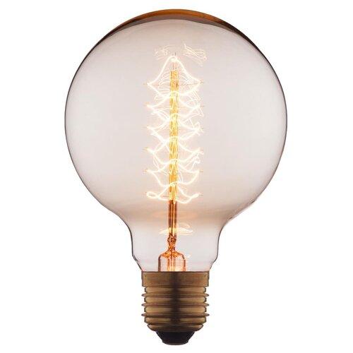 Лампочка накаливания Loft it Edison Bulb G9540-F E27 40W