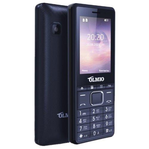 Телефон OLMIO A25 черно-синий