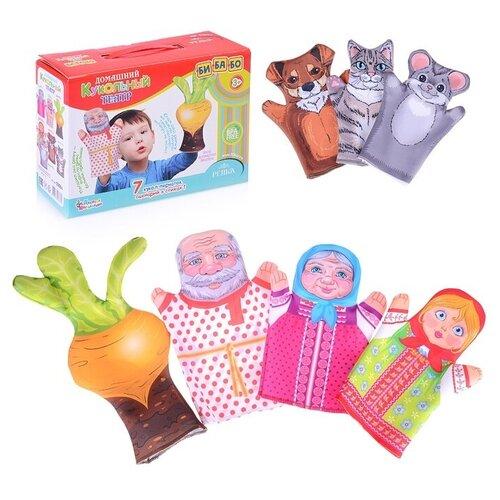 Фото - Десятое королевство Кукольный театр Репка (03664) десятое королевство td03663 домашний кукольный театр колобок 7 кукол перчаток